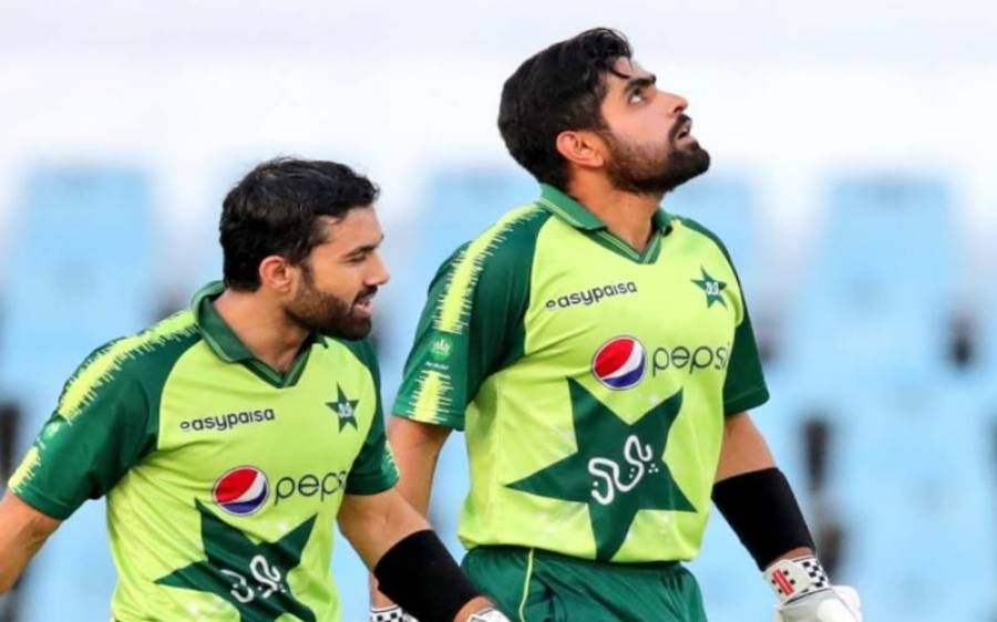 محمد رضوان کی ناقابل شکست اننگ ،پاکستان نے زمبابوے کو تیسرے میچ میں شکست دے کر سیریزاپنے نام کر لی