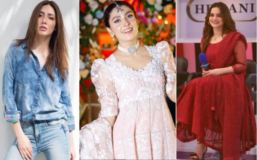 پاکستان میں انسٹاگرام پر سب سے زیادہ فالو کی جانے والی اداکارائیں