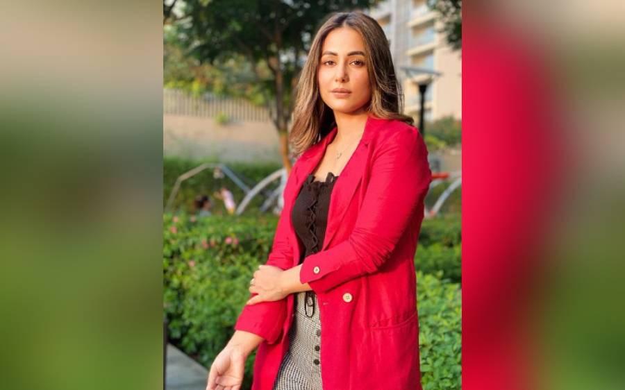 والد کے انتقال کے 6 روز بعد اداکارہ حنا خان بھی کورونا وائرس کا شکار ہوگئیں