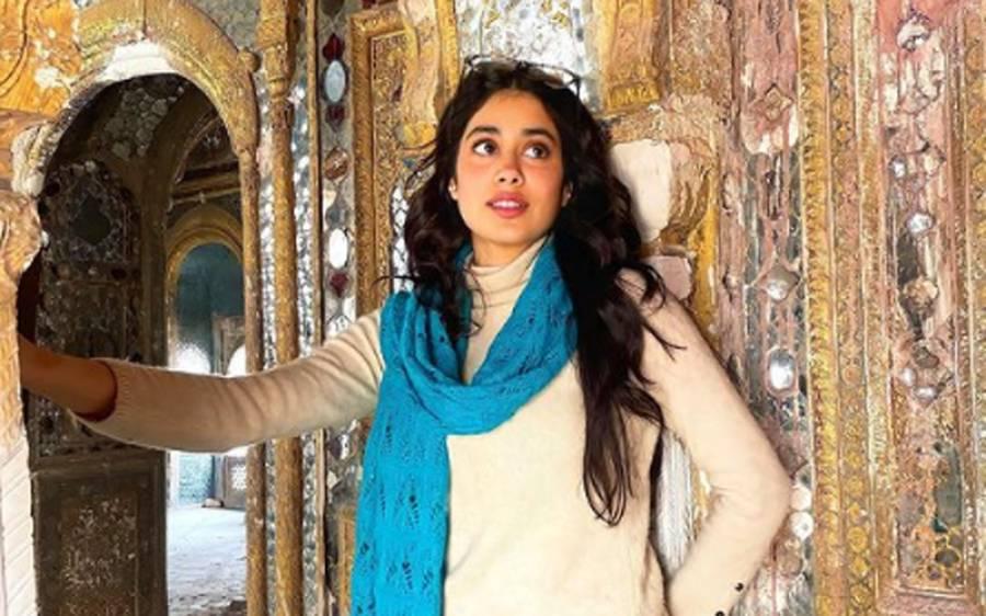 اداکارہ جھانوی کپور نے پھر سے مصوری شروع کردی