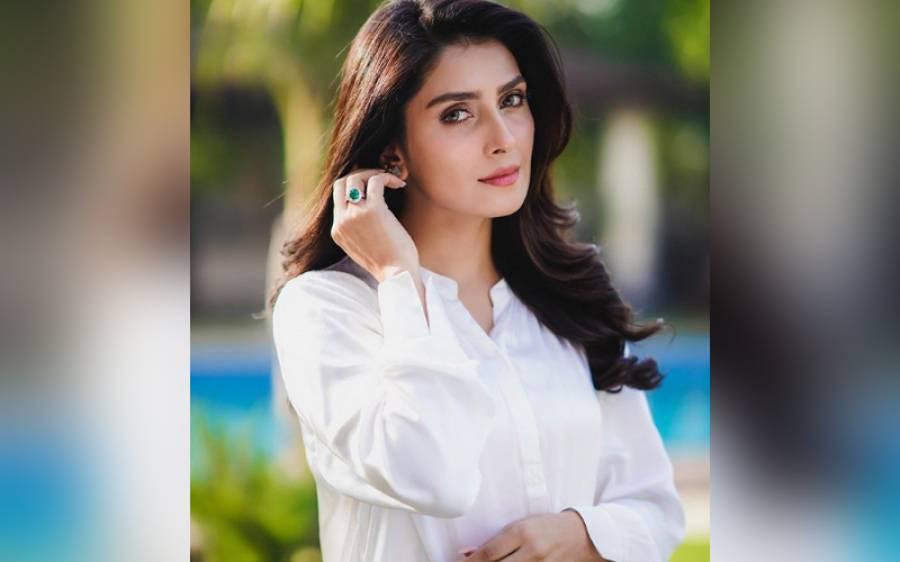 اداکارہ عائزہ خان کے گھر نئے 'رکن ' کی اینٹری ہو گئی، اداکارہ خوشی سے نہال