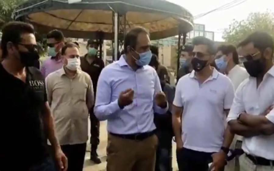 قومی کرکٹر بھی ضلعی انتظامیہ کے ساتھ کورونا کے حوالے سے آگاہی مہم چلانے میں مصروف