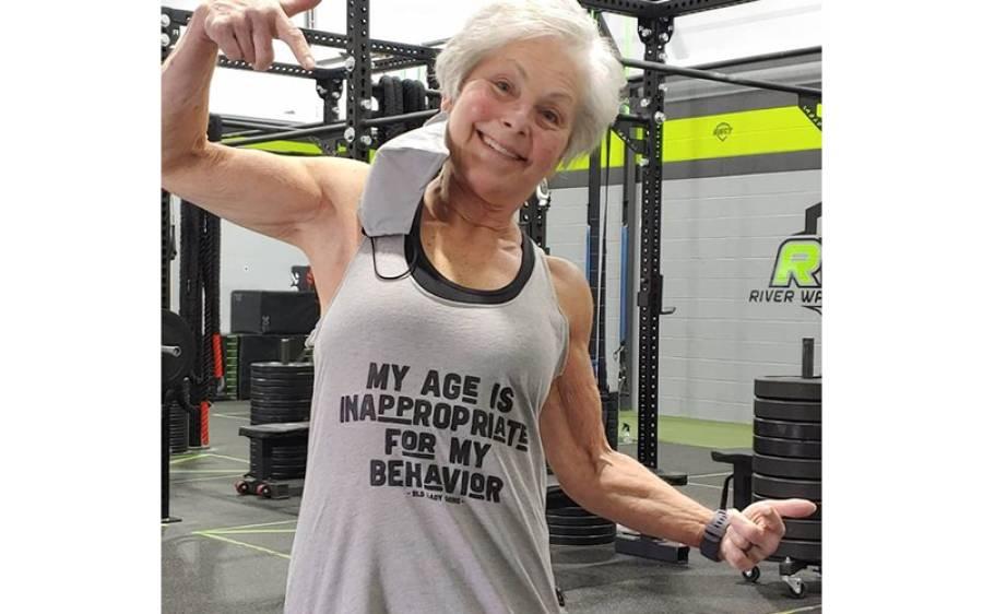 دنیا کی سب سے مضبوط عورت؟ وزن کم کرنے کے لیے جم جوائن کرنے والی خاتون نوجوانوں کے لیے مثال بن گئی
