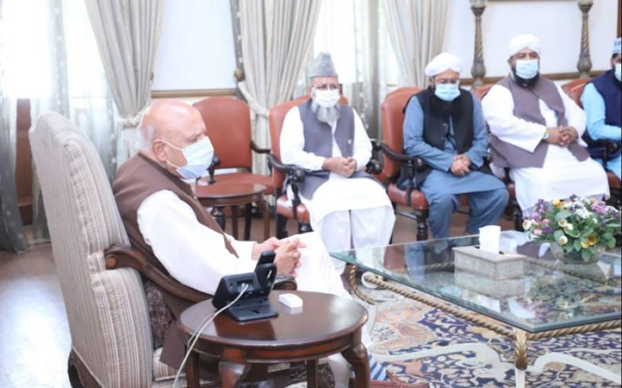 علامہ راغب نعیمی کی قیادت میں علما وفد کی گورنر پنجاب سے ملاقات، اہم مطالبہ کردیا