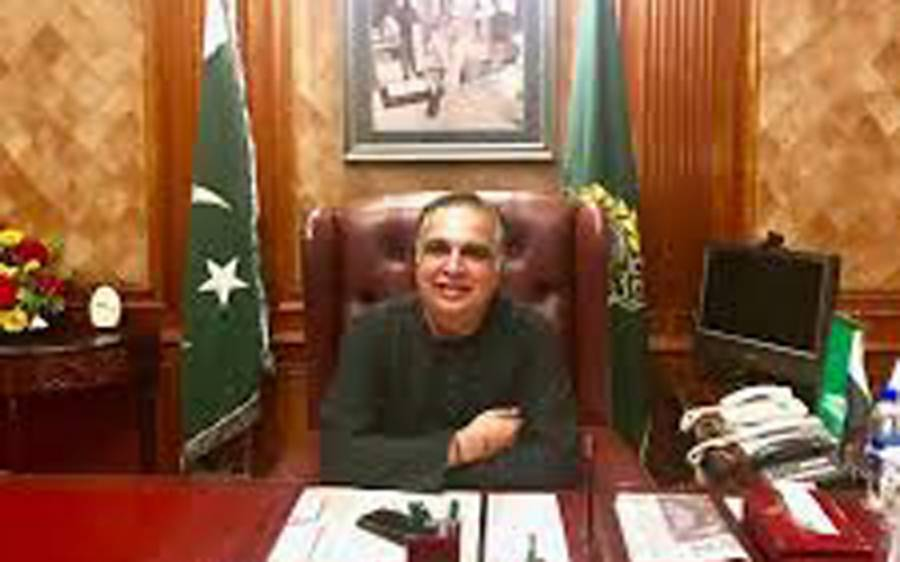 گورنر سندھ عمران اسماعیل کا این اے 249 میں ری الیکشن کا مطالبہ