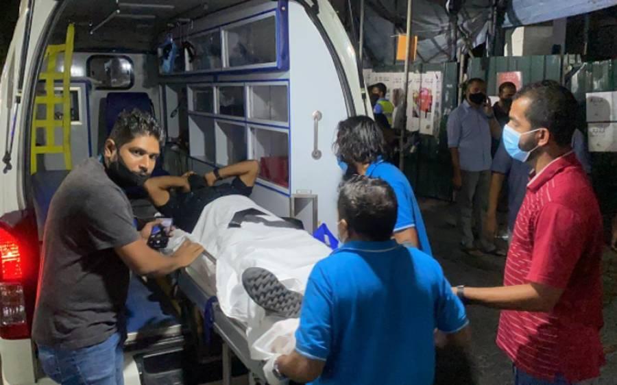 مالدیپ کے دارالحکومت میں دھماکا، سابق صدر محمد نشیدشدید زخمی