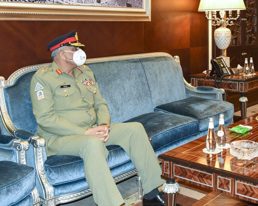 آرمی چیف جنرل قمرجاوید باجوہ کی سعودی نائب وزیر دفاع سے ملاقات