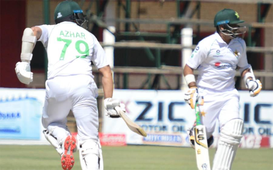 دوسرے ٹیسٹ میچ کے پہلے دن کا کھیل ختم،پاکستان کا پلڑا بھاری