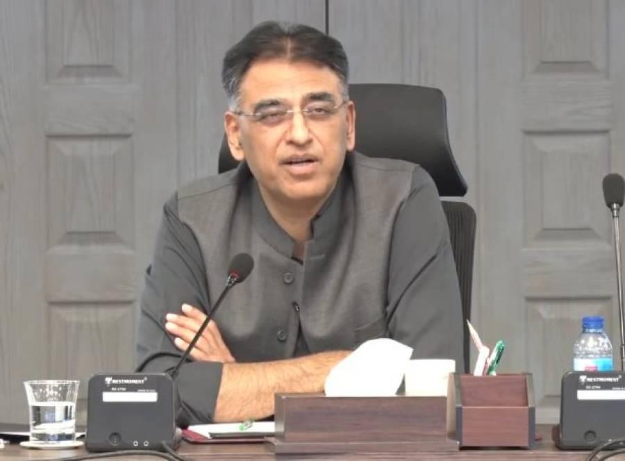 سندھ حکومت کو گوٹھوں پر مبینہ قبضے کی وضاحت کرنی چاہیے، اسد عمر