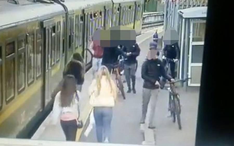 جنسی ہراساں کرنیوالے اوباشوں کے گروہ نے ٹرین سٹیشن پر کھڑی لڑکی کو نیچے پٹڑی پر گرادیا اورپھر۔ ۔ ۔
