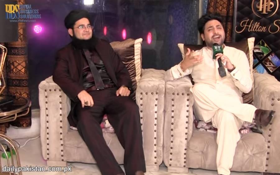 ناصر مدنی نے پینٹ کوٹ پہن کر یاسرشامی کو عید پر دوبارہ تاریخی انٹرویو دے دیا