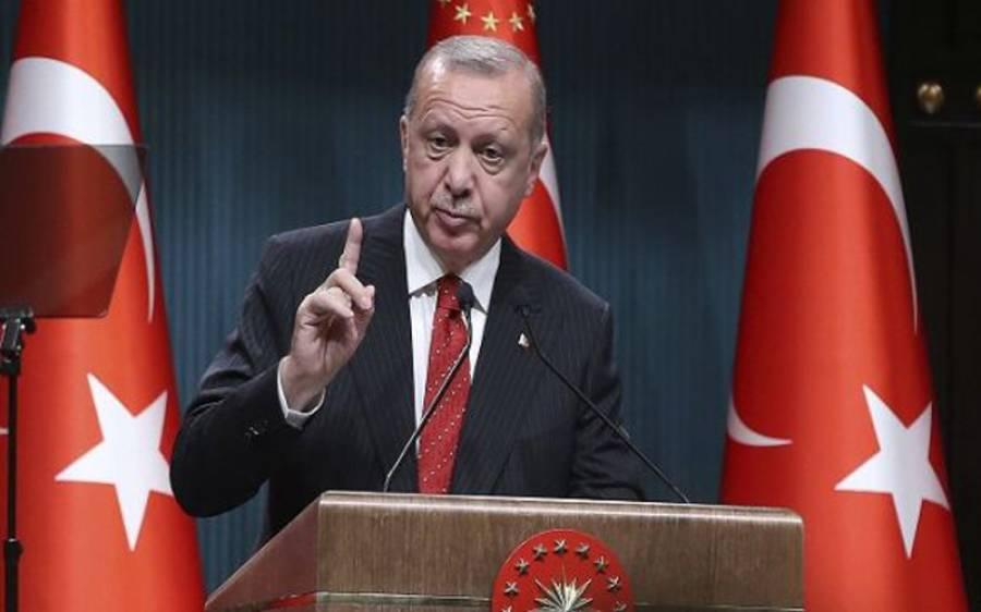 اسرائیلی جارحیت پر خاموش رہنے والوں کا انجام عبرت ناک ہوگا ، ترک صدر نے عالمی قوتوں کی خاموشی پر سخت تنبیہ کردی