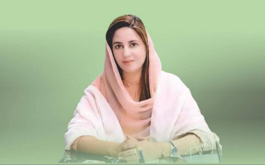 مریم نواز تقریر نہ کریں، اباجی کو کہیں کہ۔۔۔زرتاج گل نے ن لیگی نائب صدر کو مشورہ دے دیا