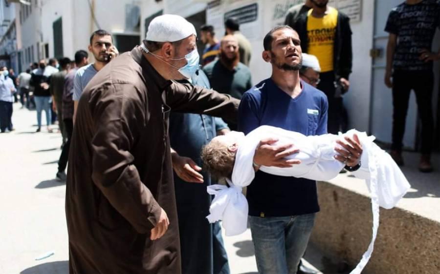 جنونی اسرائیل کے فلسطینیوں پرپھر حملے