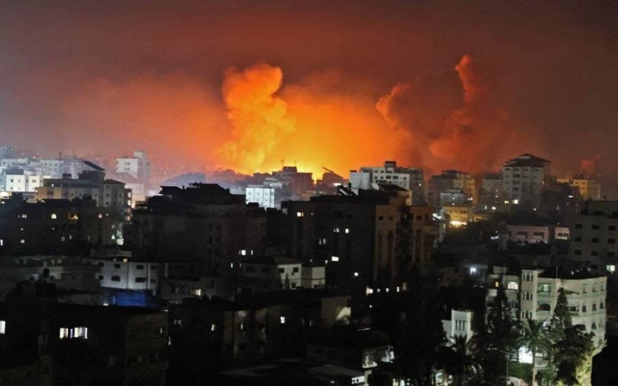 اسرائیلی افواج کے حملے جاری ، غزہ میں33 اور غرب اردن میں 21 شہید