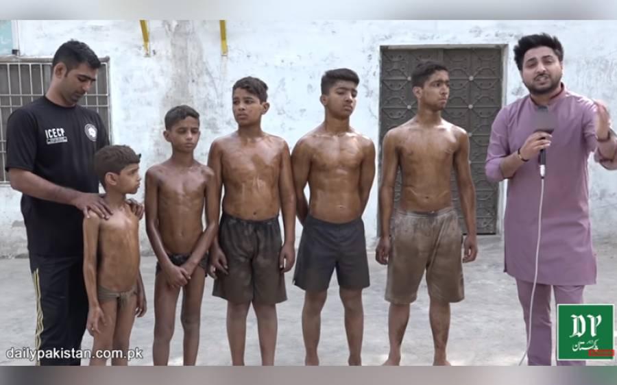 ایک ہی گھر کے پانچ پہلوان بچے، ان کی خوراک، جسم اور کشتی دیکھ کر ہر کوئی حیران رہ جائے۔۔۔