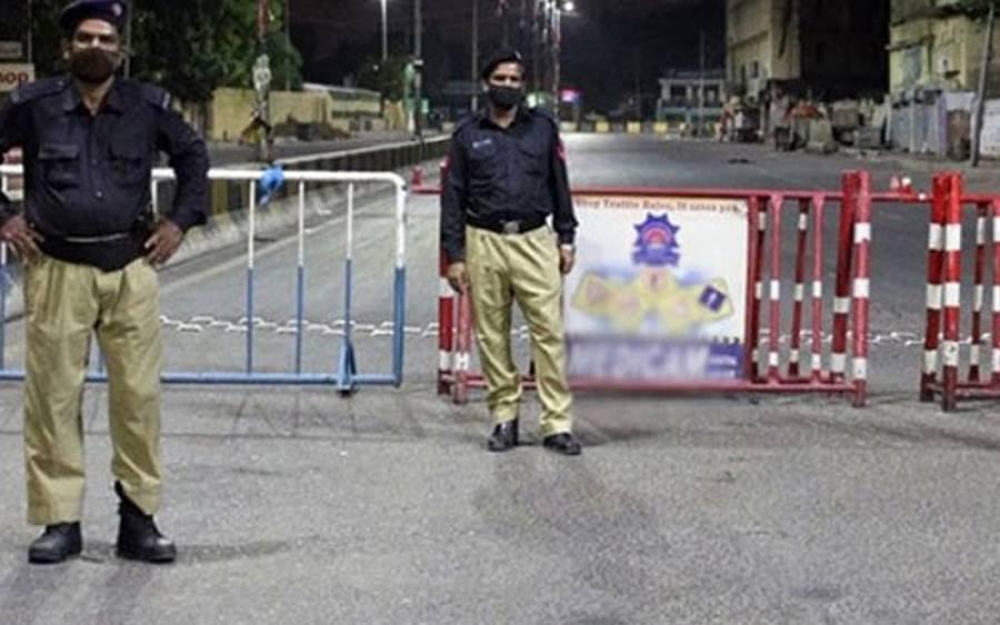 کورونا کیسز میں بے تحاشا اضافہ ، کراچی کے چار اہم علاقوں میں لاک ڈاؤن نافذ