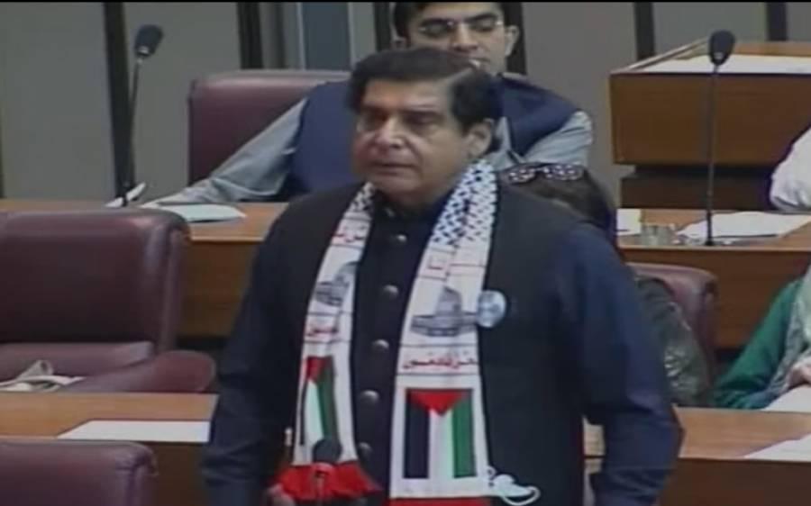 قومی اسمبلی میں فلسطین کے حق میں متفقہ قرارداد ، راجہ پرویز اشرف نے ایوان میں بڑی کمی کی نشاندہی کردی