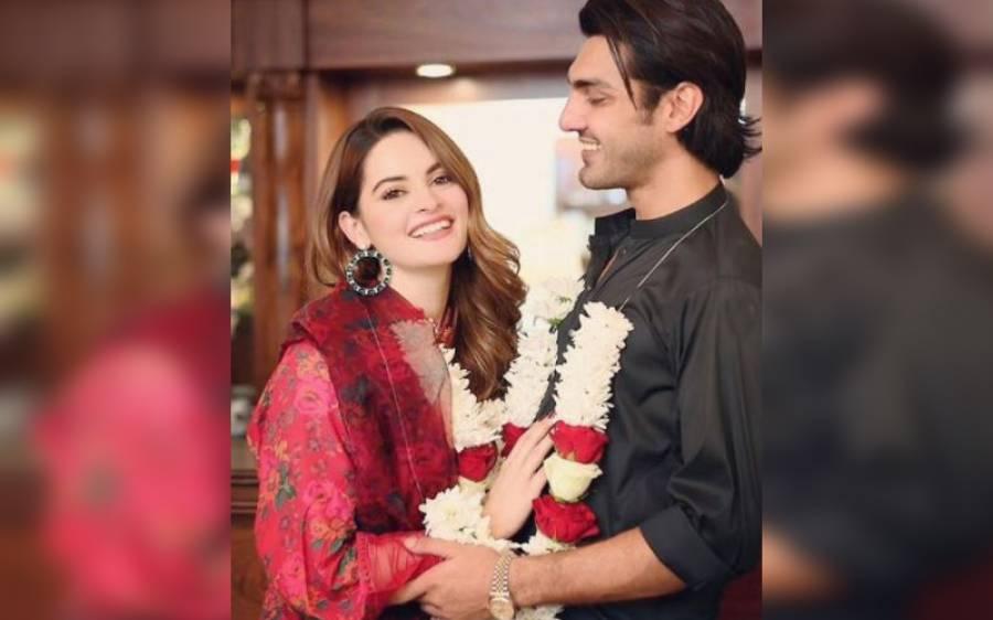 اداکارہ منال خان کی منگنی ہوگئی