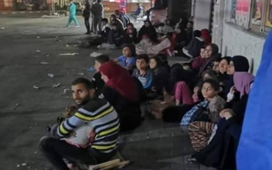 اسرائیلی بمباری سے غزہ میں 52ہزار فلسطینی بے گھر ہو گئے