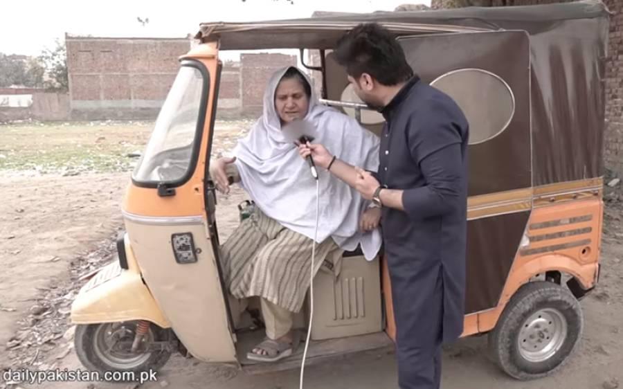 رکشہ چلا کر 8 بیٹیوں کی پرورش کرنے والی پاکستانی خاتون۔۔۔