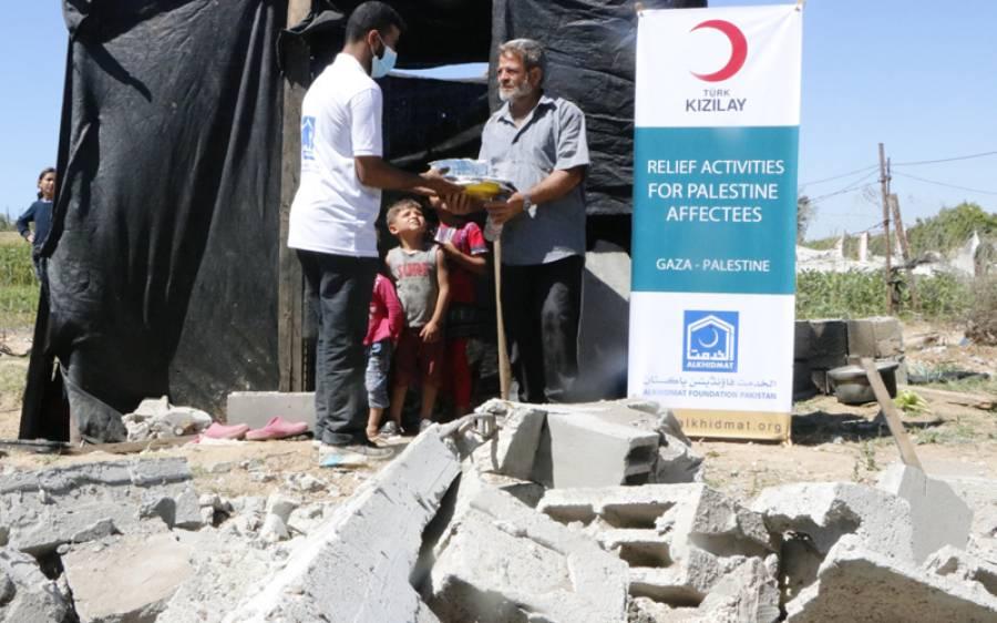'موجودہ صورتحال میں فلسطینی تنہا نہیں 'پاکستان کی وہ فلاحی تنظیم جس کی غزہ میں امدادی سرگرمیاں جاری