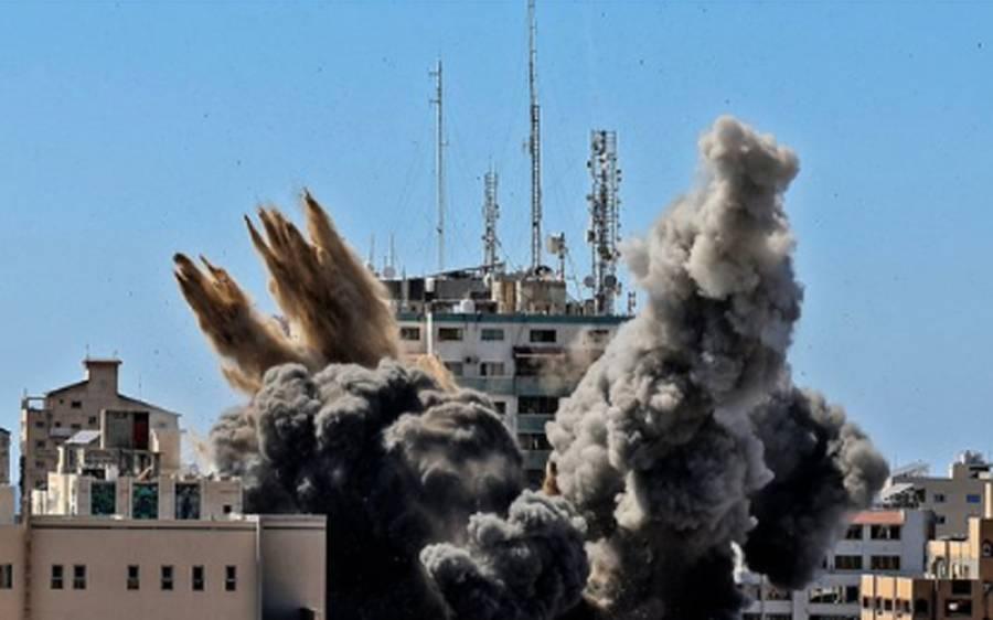 اسرائیلی فضائی حملے ، اقوام متحدہ کی انسانی حقوق کمیٹی نےصہیونی فوج کے جھوٹے الزامات کا بھانڈا پھوڑ دیا