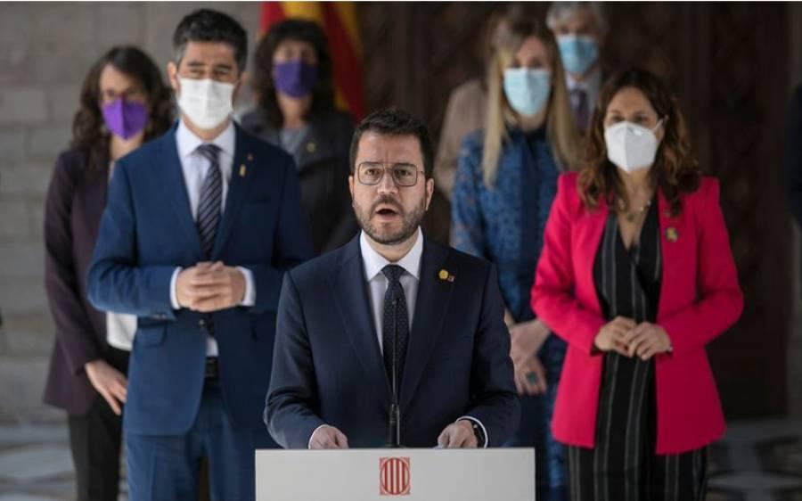 ہسپانوی صوبہ کاتالونیہ کی کابینہ نے حلف اٹھا لئے