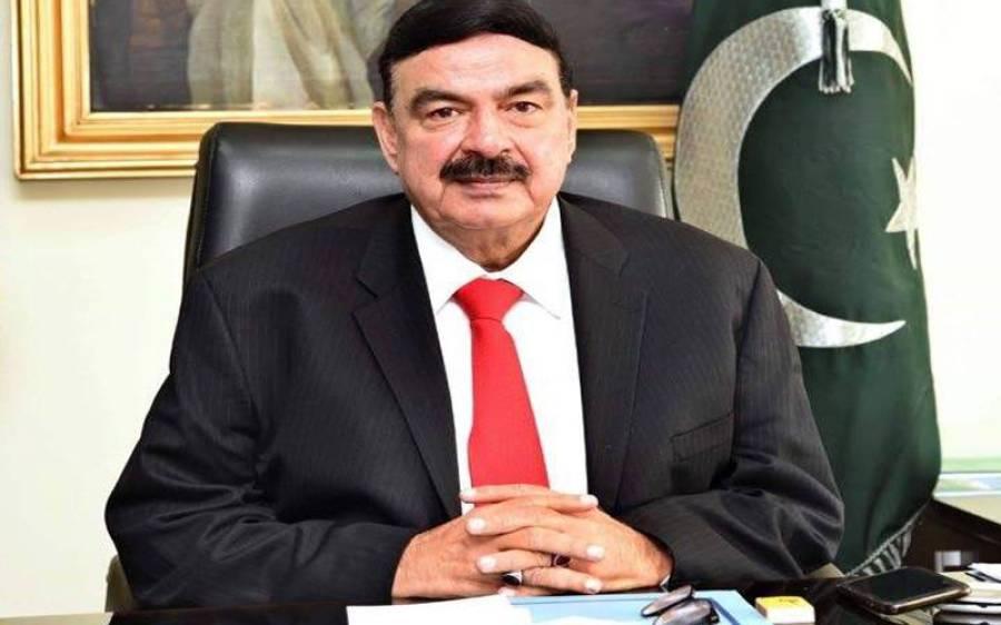 وفاقی وزیر داخلہ شیخ رشید نے حامد میر کے پروگرام سے متعلق بڑا اعلان کر دیا