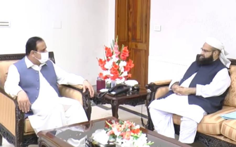 وزیراعلی پنجاب سے علامہ طاہر اشرفی کی ملاقات ،معاون خصوصی نے علماءکی جانب سے عثمان بزدار کو بڑی یقین دہانی کرا دی