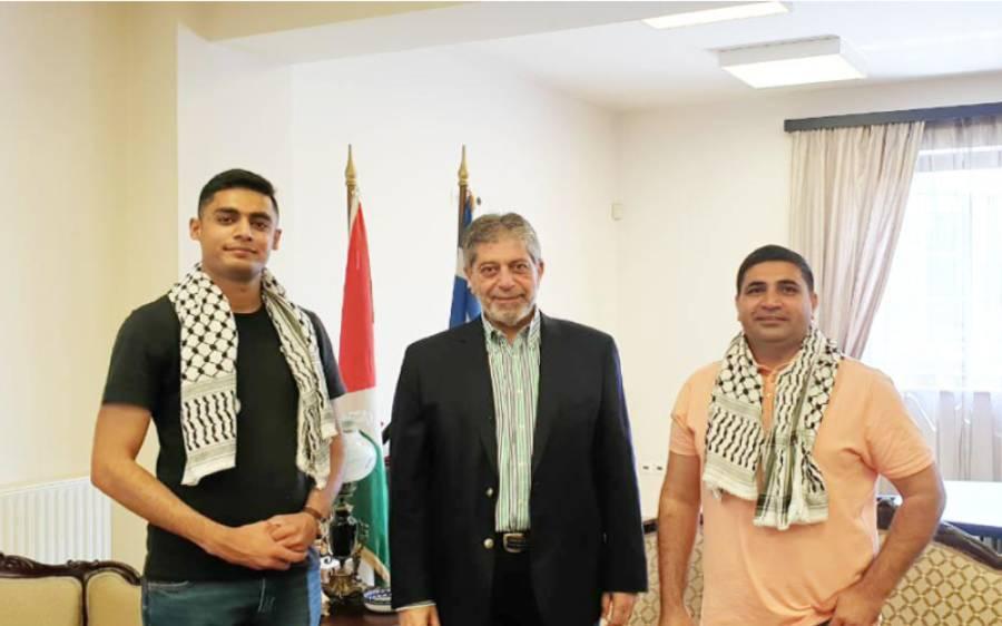 اسرائیل کے خلاف حمایت پر یونان میں فلسطینی سفیر نے پاکستان کا شکریہ ادا کردیا