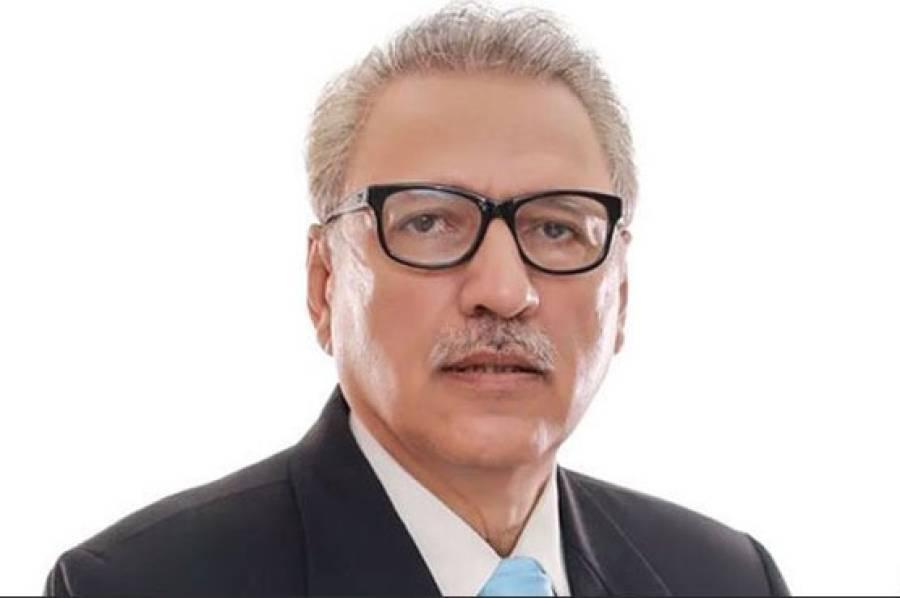 صدر مملکت ڈاکٹر عارف علوی کا ٹرین حادثے پر افسوس، غمزدہ خاندانوں سے اظہار تعزیت