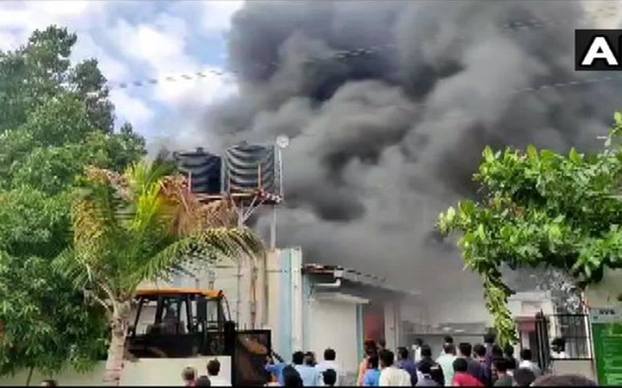 بھارت میں کمپنی کی عمارت میں آتشزدگی، اتنے لوگ ہلاک ہوگئے کہ آپ کو بھی افسوس ہوگا