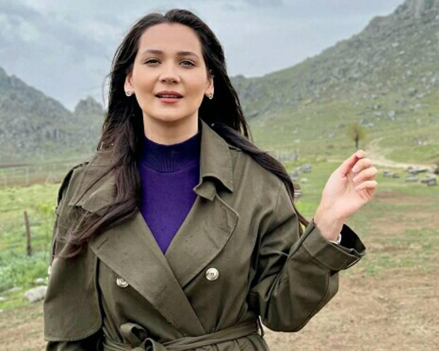 ترک سیریز ارطغرل کی اداکارہ گلسوم علی کا گھوٹکی ٹرین حادثے پر اظہار افسوس
