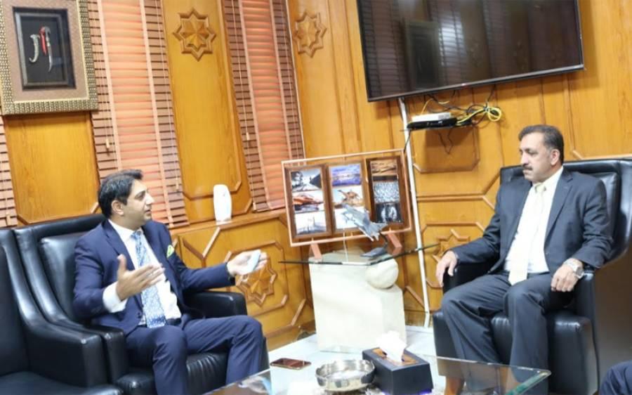 یونائیٹڈ بینک کی تین رکنی ٹیم کی سفیر افضال محمود سے ملاقات