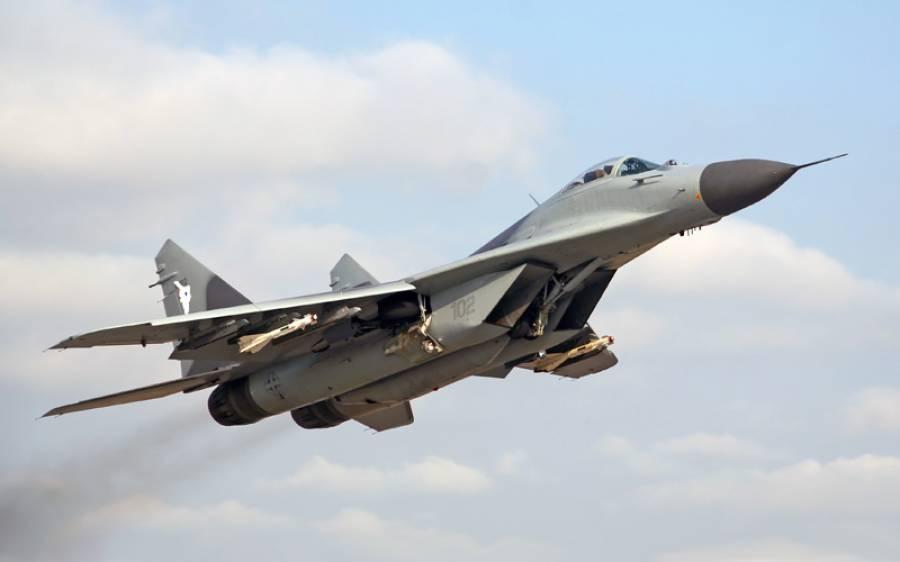 ایک اور ملک میں روسی ساختہ جنگی طیارہ گر کر تباہ ہوگیا
