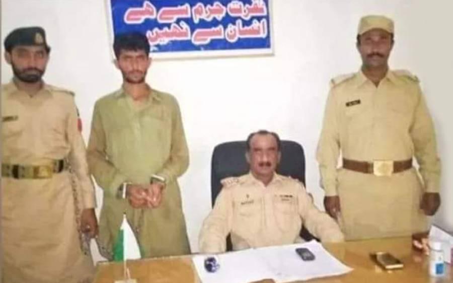 بارڈر ملٹری پولیس کی لادی گینگ کیخلاف بڑی کارروائی ،ہاتھ، ناک اور کان کاٹنے کی سفاکانہ واردات کا مبینہ ملزم گرفتار