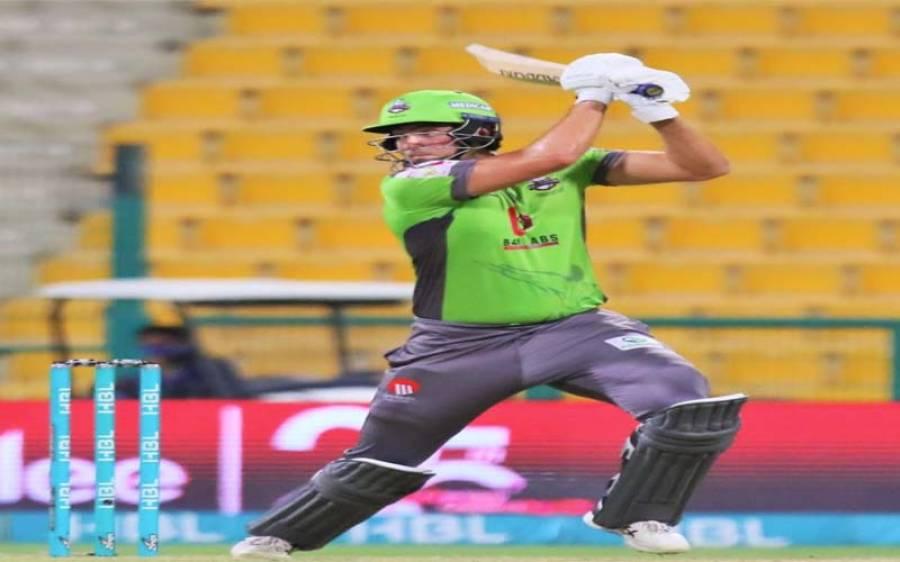 لاہور قلندرز کی ٹیم نے پشاور زلمی کو جیت کے لیے مشکل ہدف دیدیا