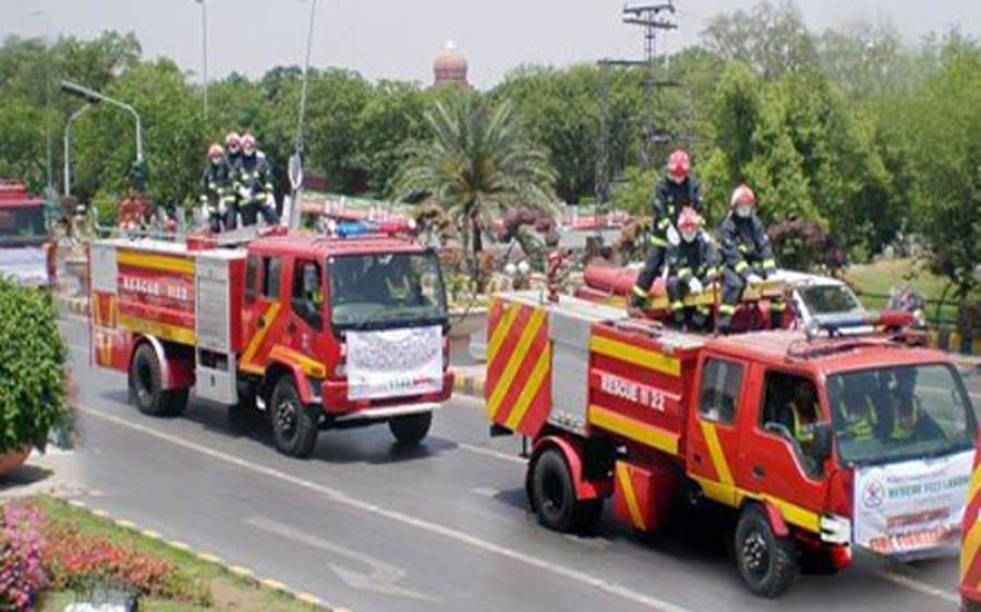 کراچی کے بلاول ہاﺅس کے میڈیاسیل میں آگ بھڑک اٹھی