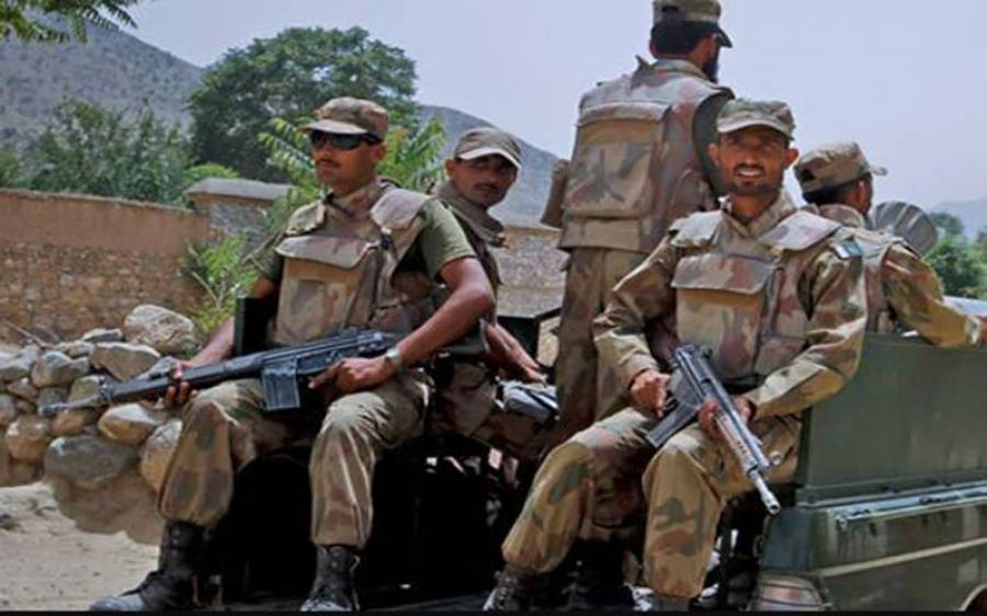 سیکیورٹی فورسز کا آپریشن، 2 دہشتگرد ہلاک، ایک جوان شہید