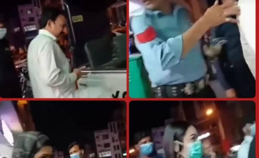 اسلام آباد میں مساج سنٹر پر چھاپہ، برہنہ پکڑے جانیوالے شخص نے اپنا تعلق کس حکومتی شخصیت کیساتھ بتایا؟؟ ویڈیو وائرل