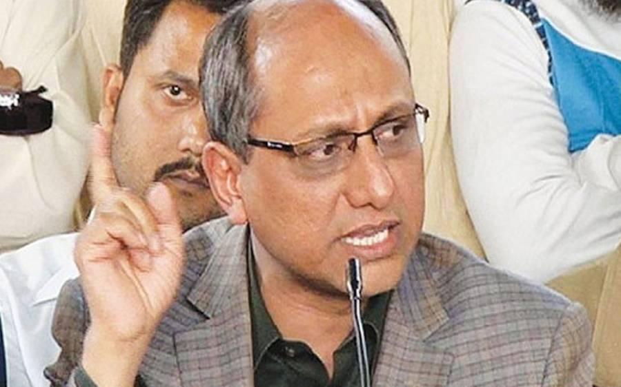 پیسے صوبے کماتے ہیں ، وفاق کی غلط فہمی ہے کہ وہ مائی باپ ہے ، سعید غنی