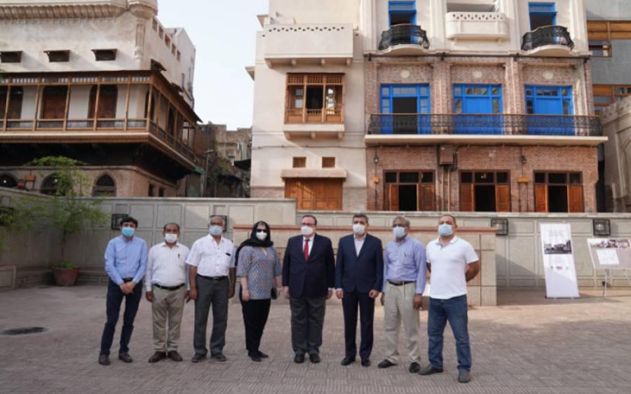 امریکی سفارت خانے کے ناظم الامور کا دورہ لاہور