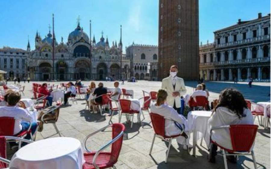 اٹلی میں سیاح ہوٹل کی پانچویں منزل سے گر کر جاں بحق