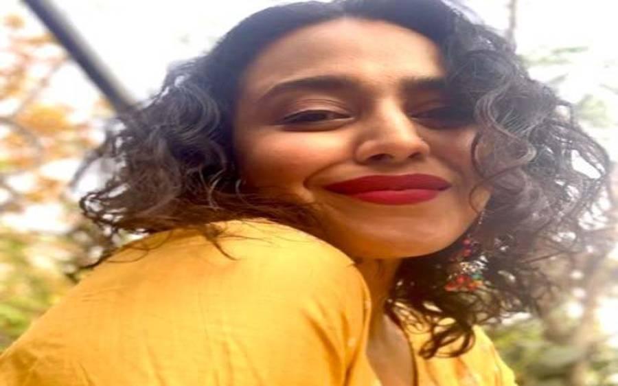 بھارت میں معمر مسلمان شہری پر تشدد کرنے والے افراد کے خلاف ٹویٹ کرنے پر اداکارہ سوارا بھاسکر کے خلاف مقدمہ درج کرلیا گیا