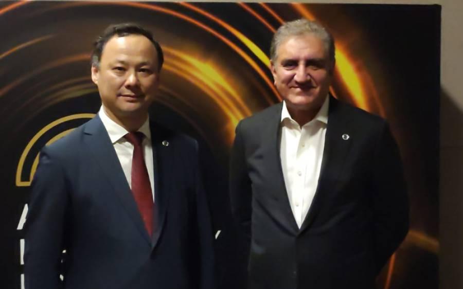شاہ محمود قریشی کی ازبکستان اورکرغزستان کے وزرائے خارجہ سے ملاقات ، خطے میں قیام امن کیلئے مشترکہ کوششیں بروئے کار لانے پر اتفاق