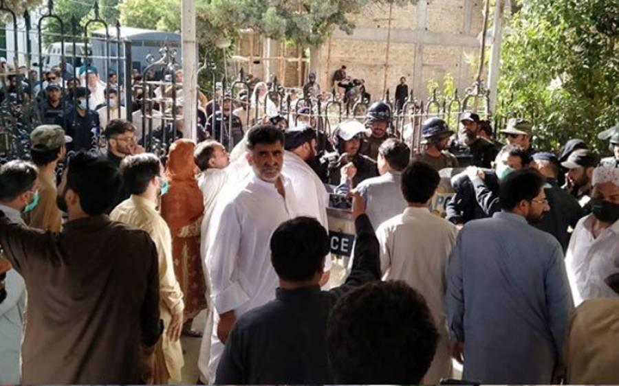 وزیراعلیٰ بلوچستان جام کمال خان کےخلاف مقدمہ درج کیا جائے ، اپوزیشن ارکان نے درخواست دے دی