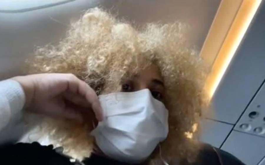 فضائی سفر کے دوران ہی امریکی لڑکی کو پیچھے بیٹھے شخص نے جنسی ہراسگی کا نشانہ بنا ڈالا