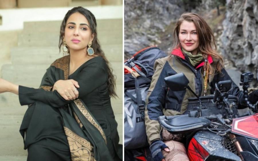 کینیڈین ولاگر روزی گیبرئیل کے انکشاف پر پاکستانی اداکارہ اشنا شاہ بھی میدان میں آگئیں، کھری کھری سنادیں