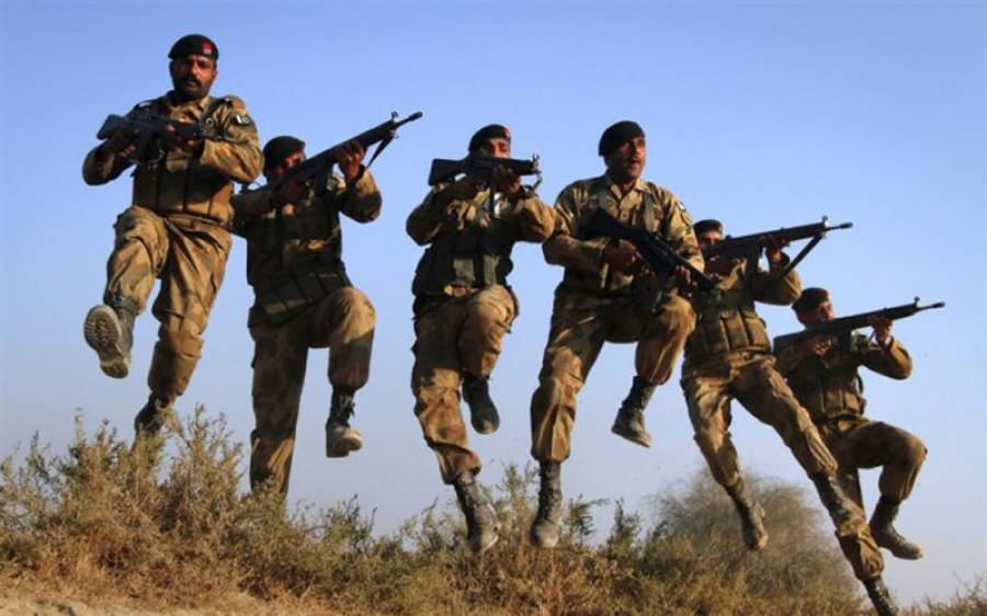 پاک فوج کا آپریشن ، 2 دہشتگرد ہلاک، ایک جوان شہید